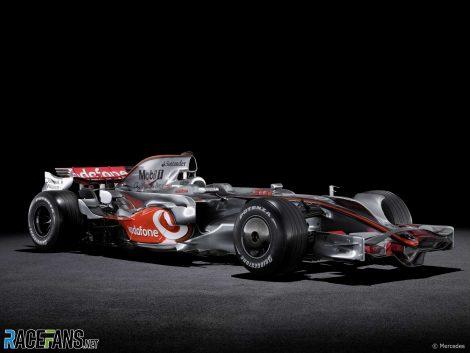 McLaren-Mercedes MP4-23, 2008