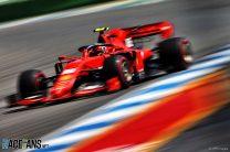 Leclerc keeps Ferrari on top as Gasly crashes