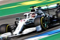 Hamilton takes pole as double disaster strikes Ferrari