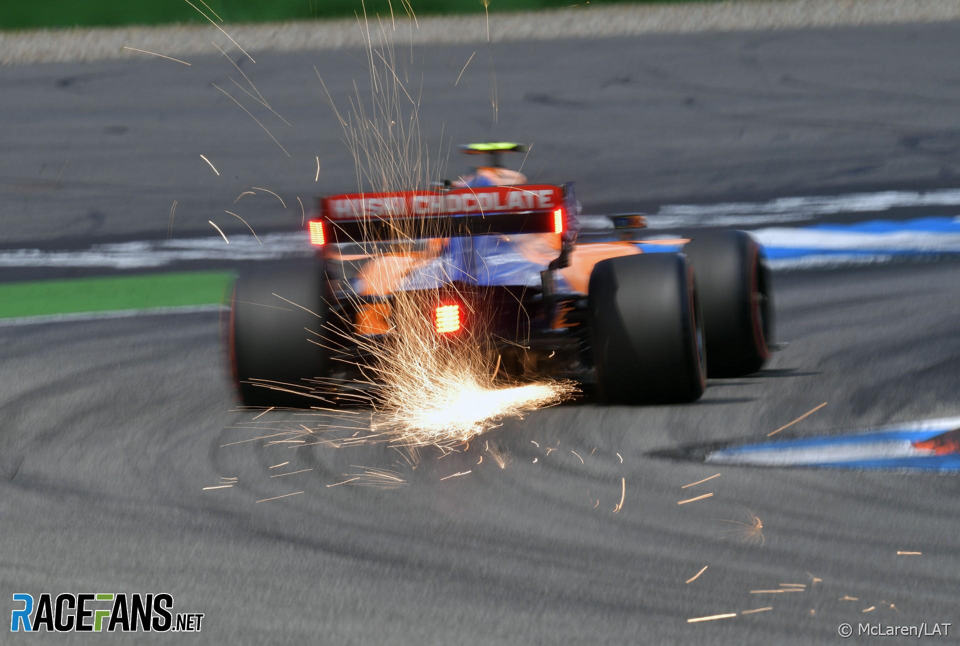 Lando Norris, McLaren, Hockenheimring, 2019