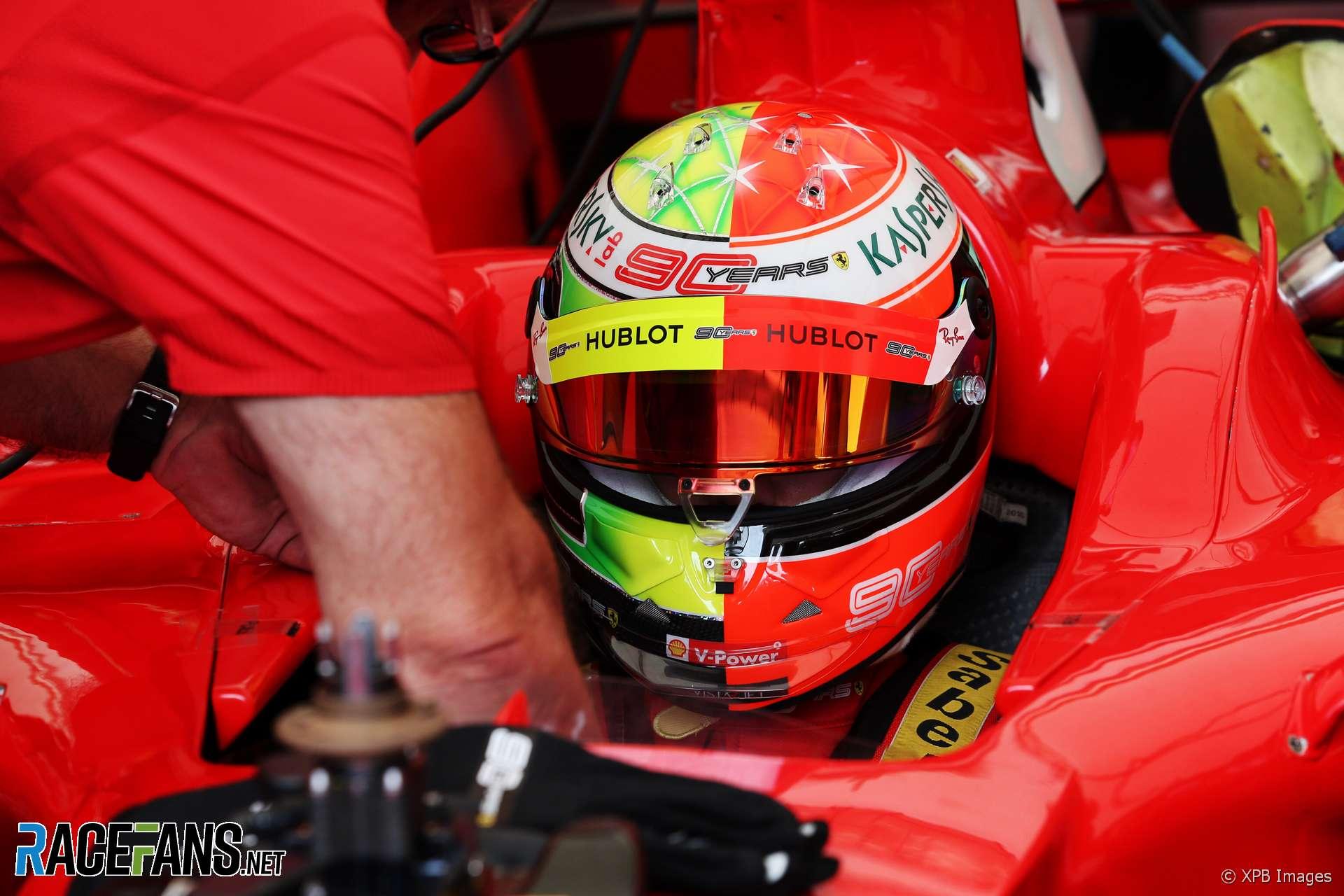 Mick Schumacher Ferrari F2004 Hockenheimring 2019 Racefans