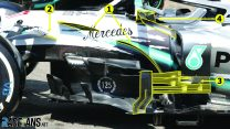 Analysis: Mercedes overhaul their sidepods for German GP