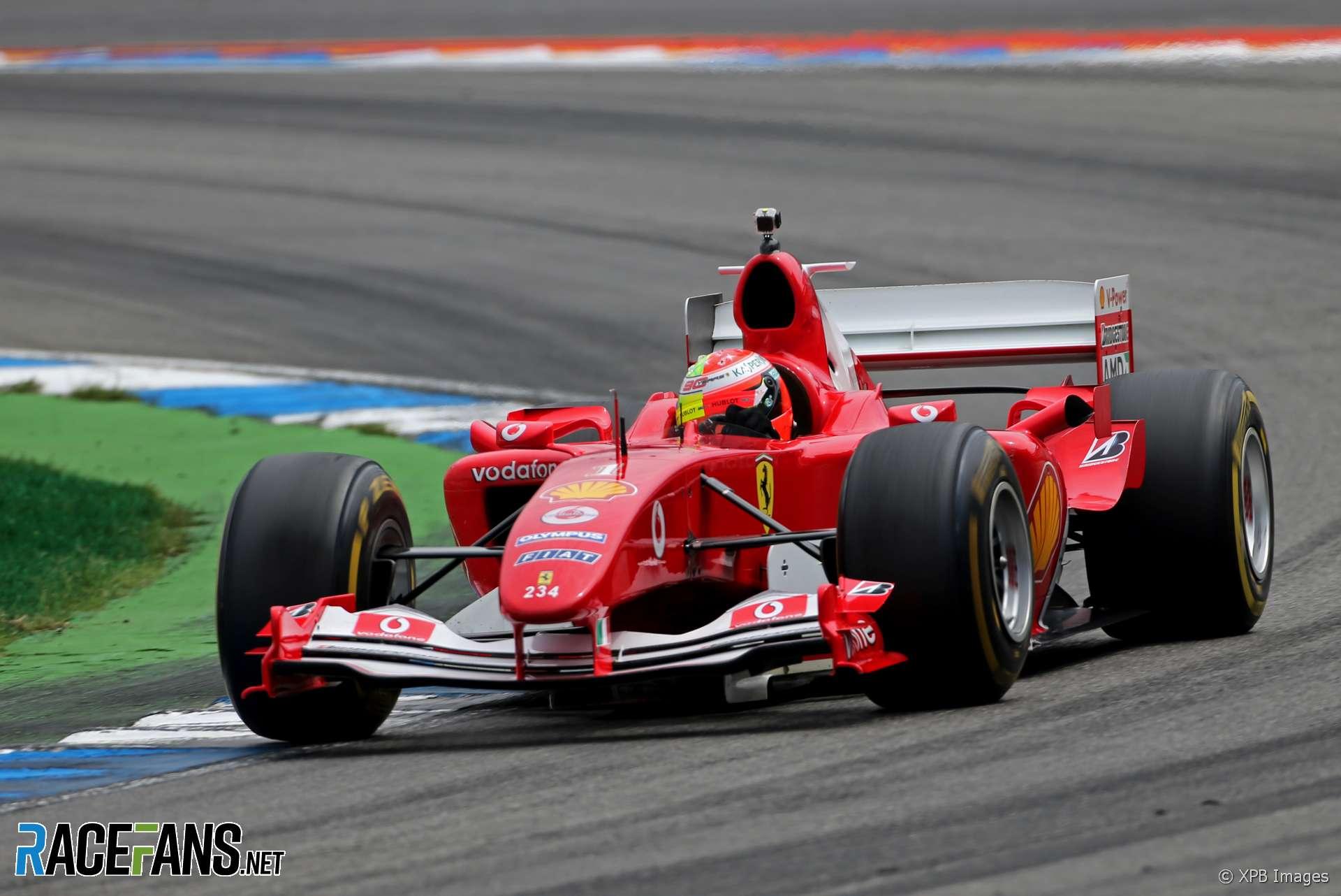 Mick Schumacher, Ferrari F2004, Hockenheimring, 2019