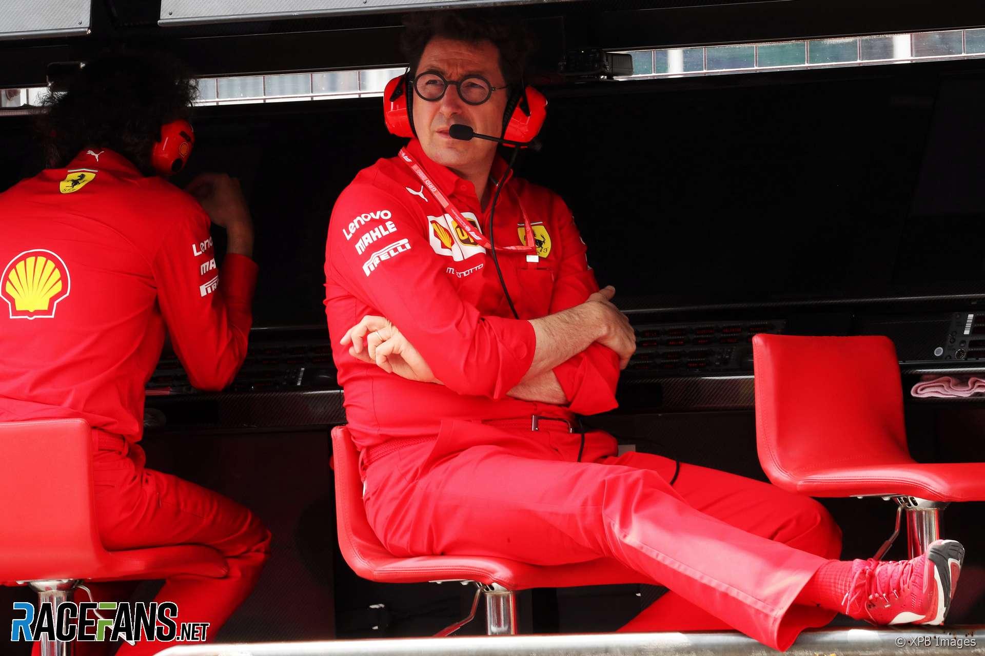 Mattia Binotto, Ferrari, Hockenheimring, 2019