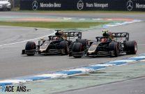 Romain Grosjean, Kevin Magnussen, Haas, Hockenheimring, 2019