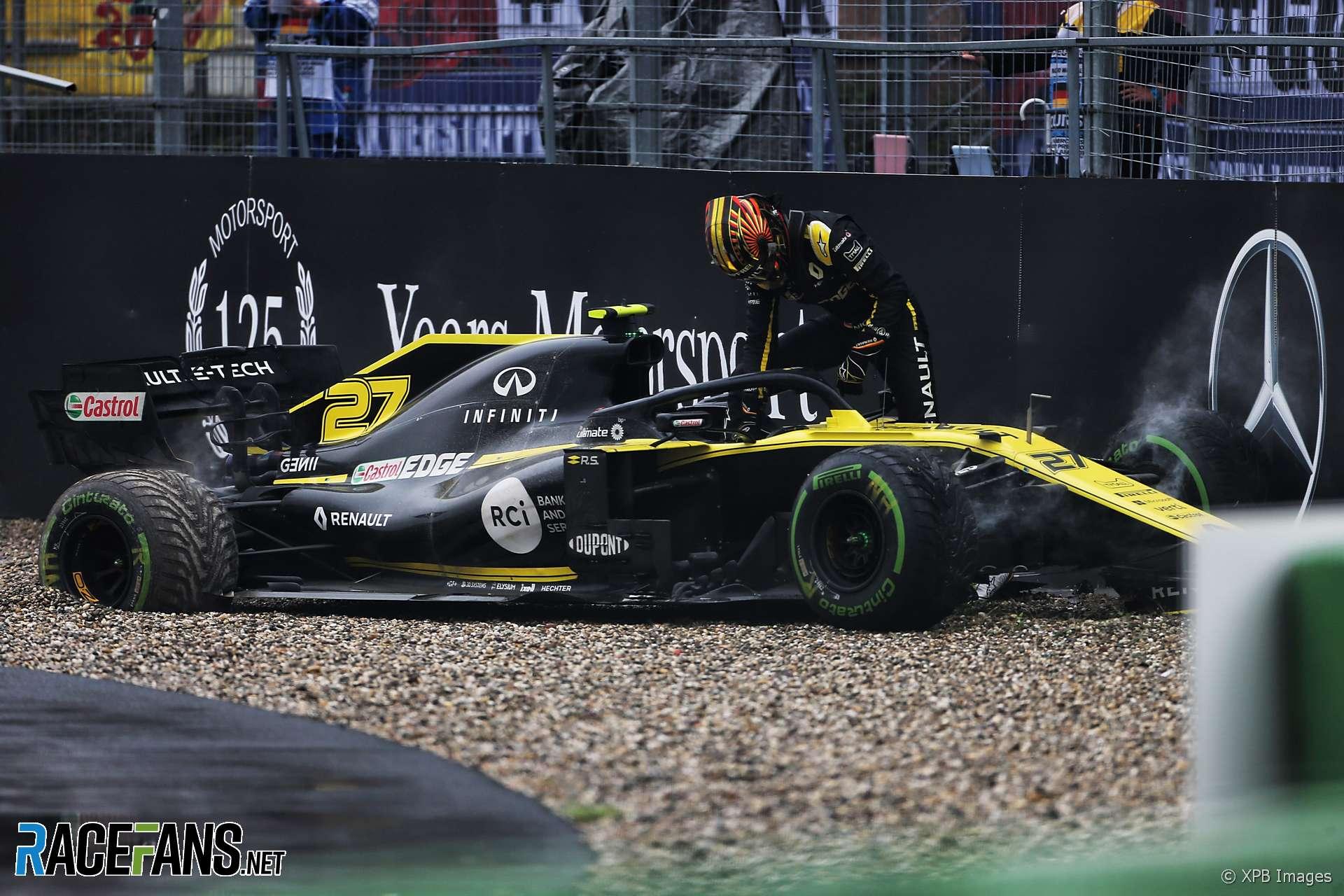 Nico Hulkenberg, Renault, Hockenheimring, 2019