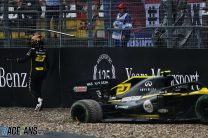 "Hulkenberg: Crashing out of fourth at home ""hurts"""