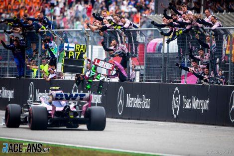 Lance Stroll, Racing Point, Hockenheimring, 2019