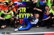 "Kvyat says return to podium will ""send a message"""