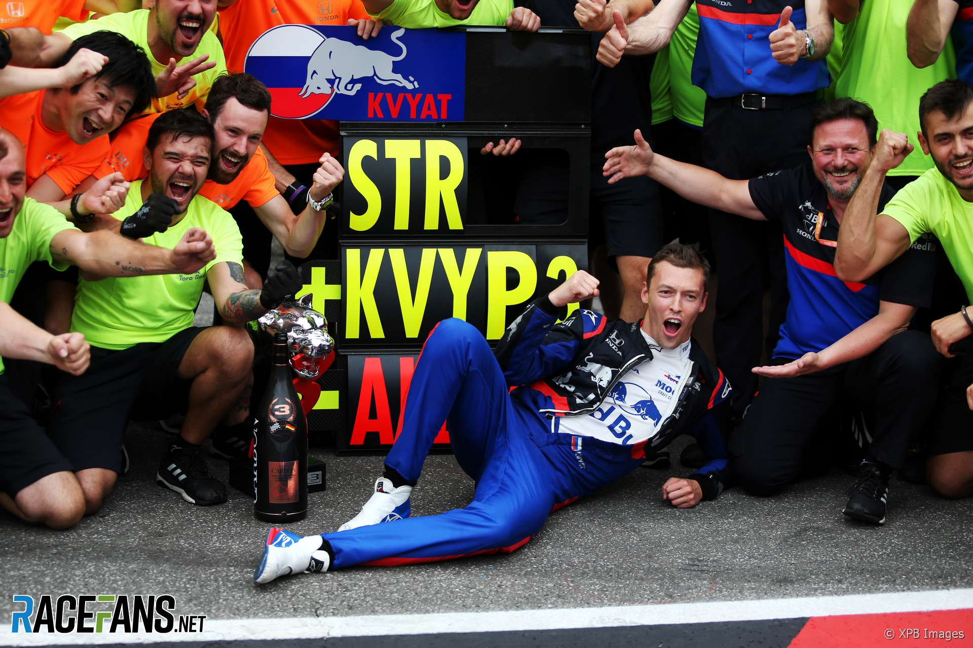 Daniil Kvyat, Toro Rosso, Hockenheimring, 2019