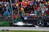 """Mercedes: Hamilton didn't ask for wet weather tyres at """"turning point"""" pit stop"""