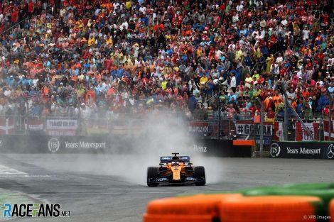 Carlos Sainz Jnr, McLaren, Hockenheimring, 2019