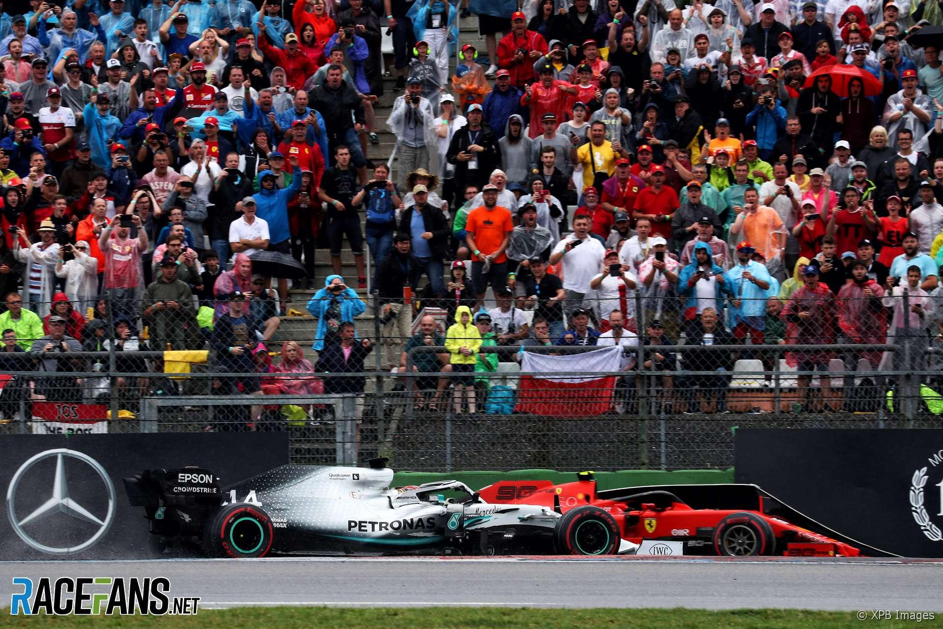 Lewis Hamilton, Charles Leclerc, Hockenheimring, 2019