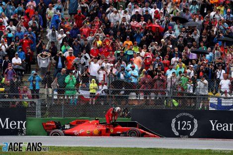 Leclerc's qualifying gains heap fresh pressure on Vettel