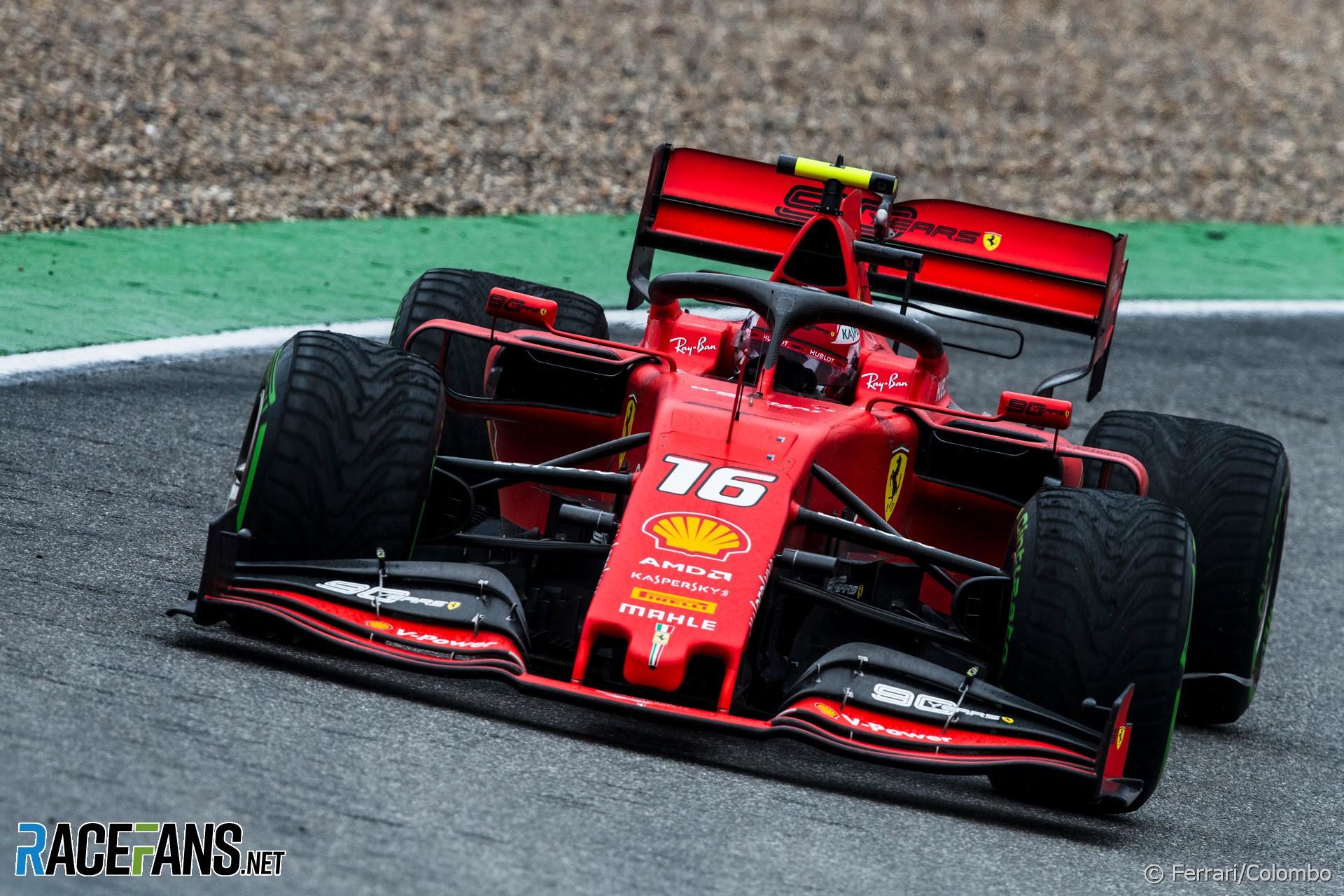 Charles Leclerc, Ferrari, Hockenheimring, 2019