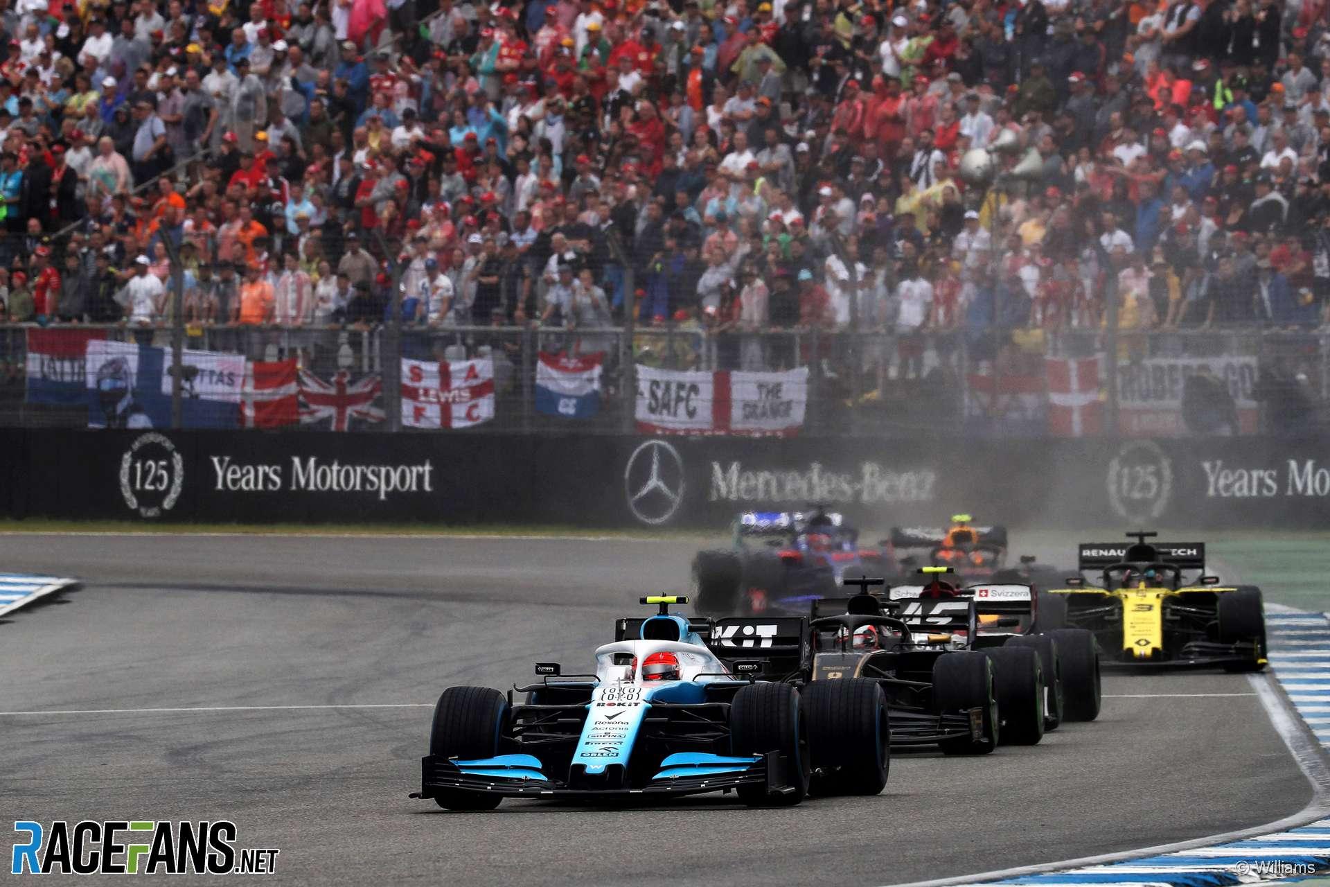 Robert Kubica, Williams, Hockenheimring, 2019