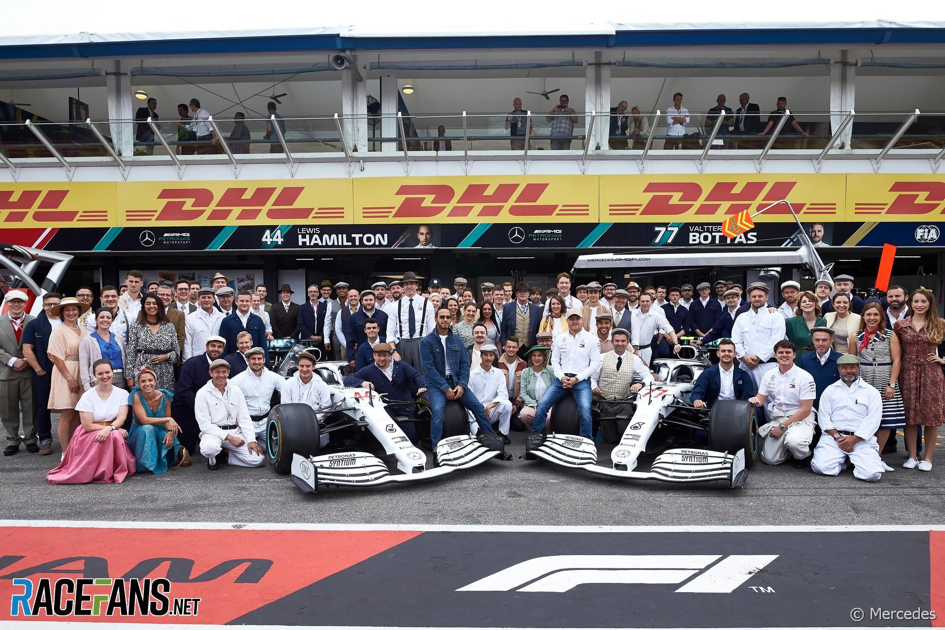 Mercedes, Hockenheimring, 2019