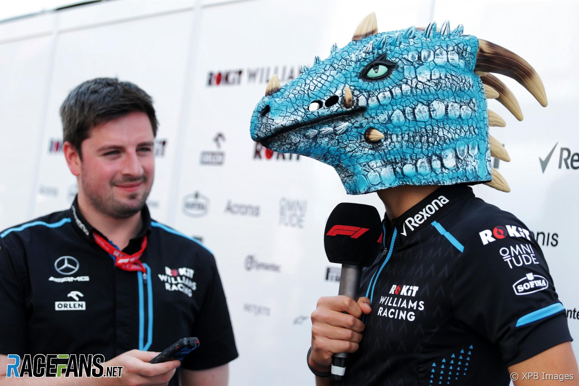 George Russell, Williams, Hungaroring, 2019