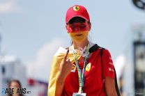 Sebastian Vettel fan, Ferrari, Hungaroring, 2019