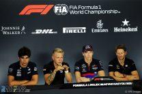 Lance Stroll, Kevin Magnussen, Daniil Kvyat, Hungaroring, 2019