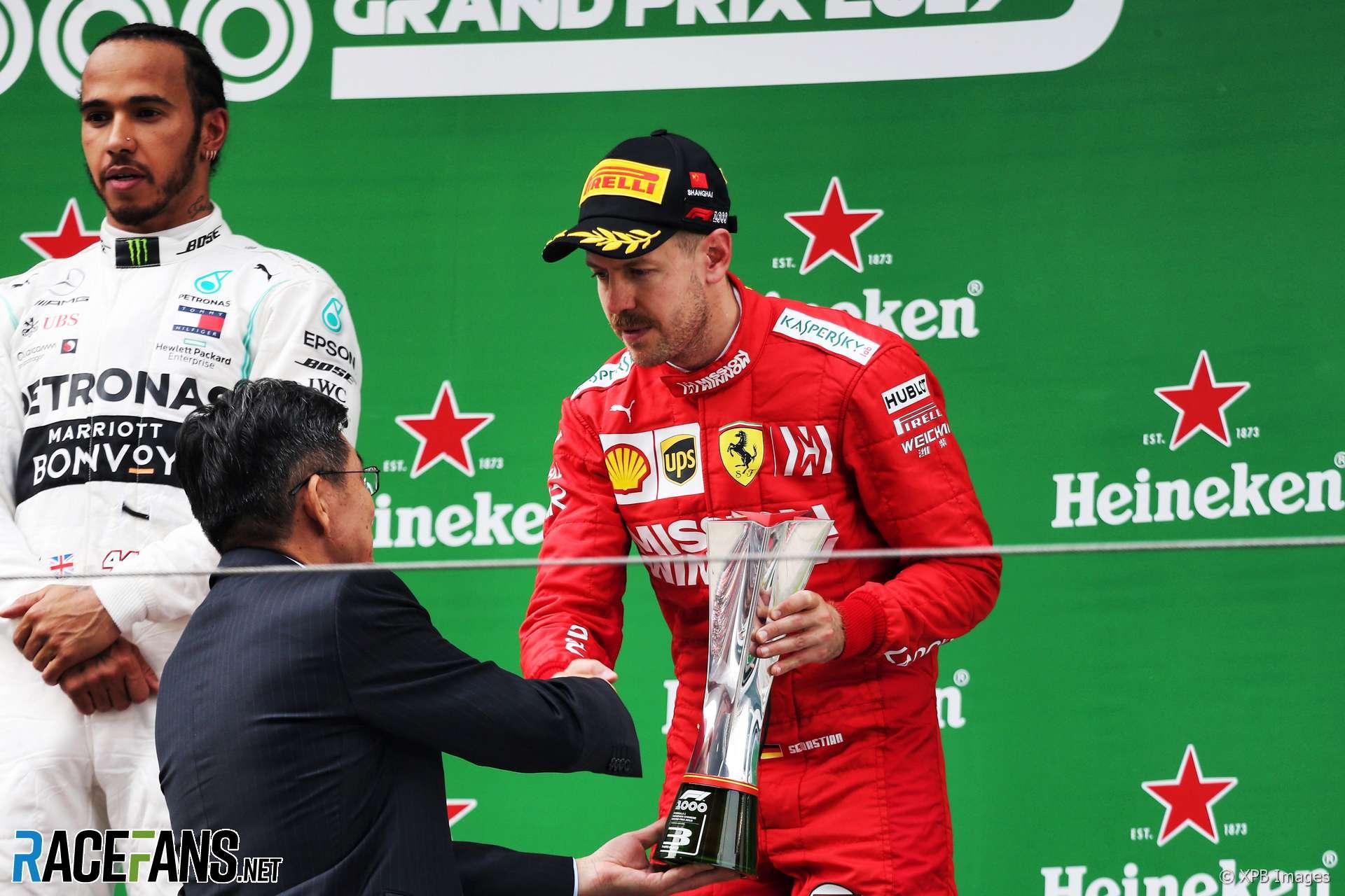 Sebastian Vettel, Ferrari, Shanghai, 2019