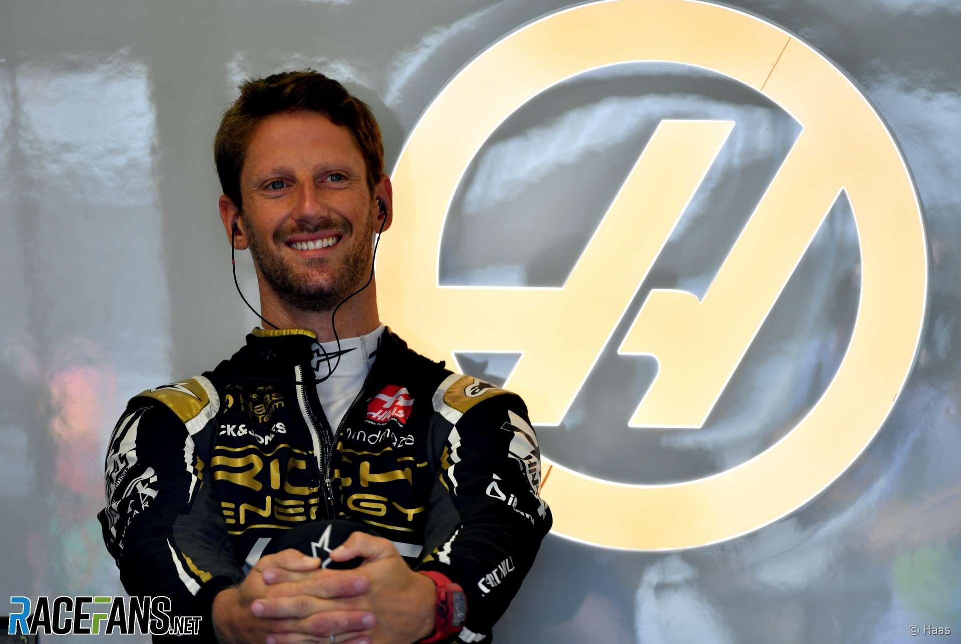 Romain Grosjean, Haas, Hungaroring, 2019