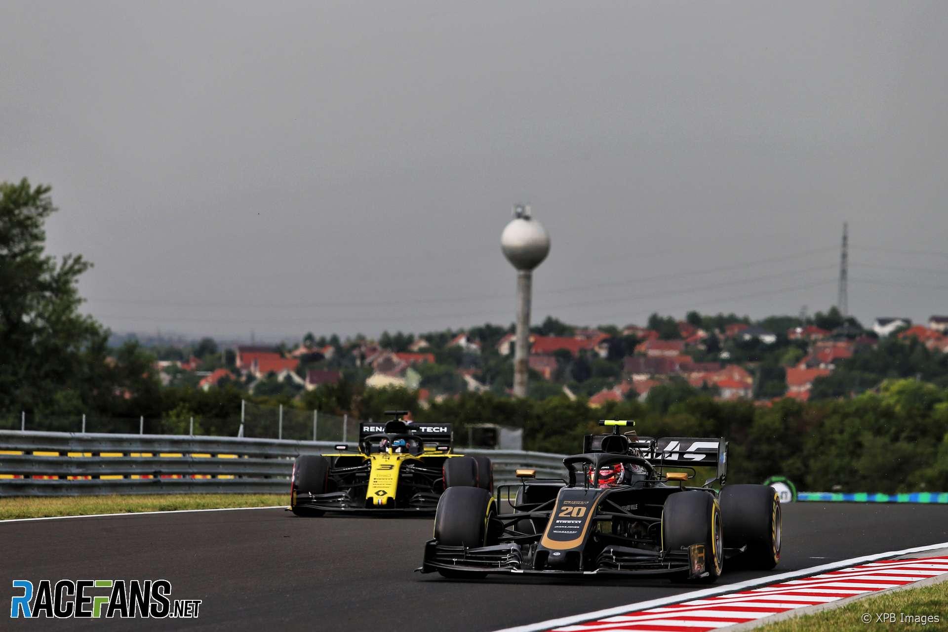 Kevin Magnussen, Haas, Hungaroring, 2019