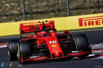 Leclerc suspects aggressive driving style is causing tyre woes