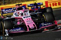 Sergio Perez, Racing Point, Hungaroring, 2019
