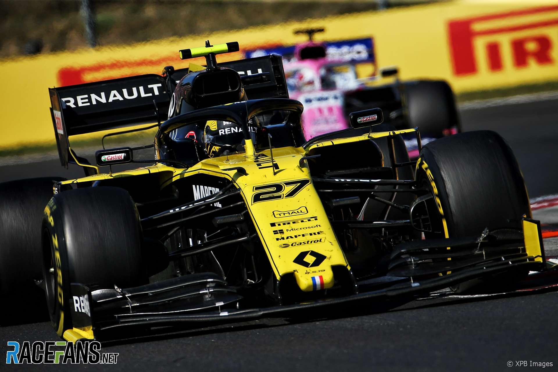Nico Hulkenberg, Renault, Hungaroring, 2019