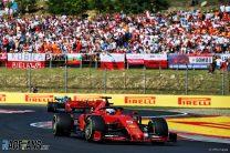 Sebastian Vettel, Ferrari, Hungaroring, 2019