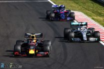 Max Verstappen, Lewis Hamilton, Hungaroring, 2019
