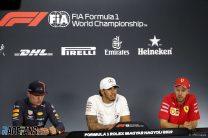 Max Verstappen, Lewis Hamilton, Sebastian Vettel, Hungaroring, 2019