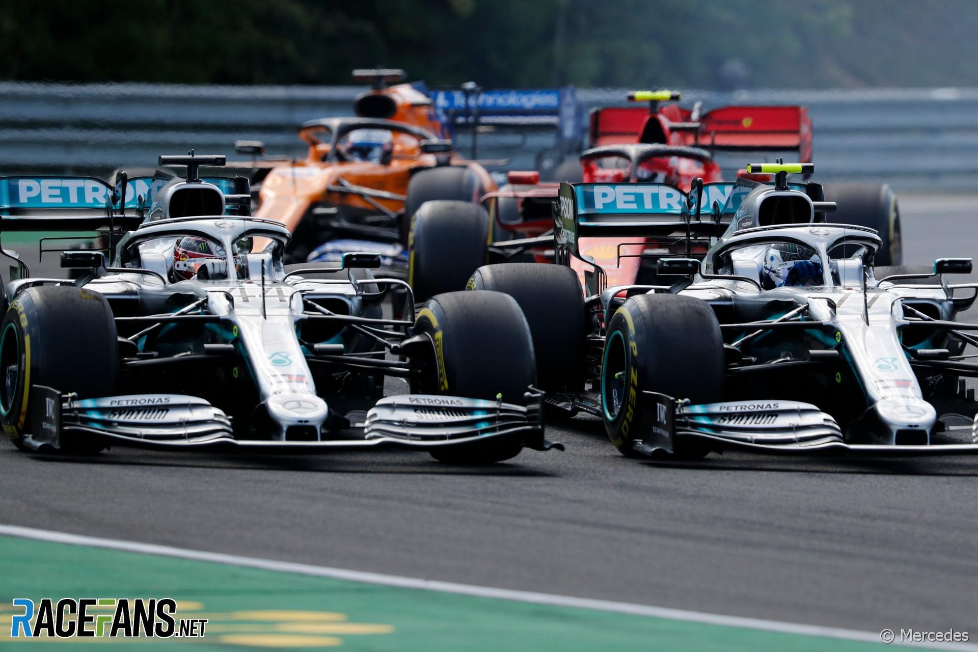 Lewis Hamilton, Valtteri Bottas, Mercedes, Hungaroring, 2019