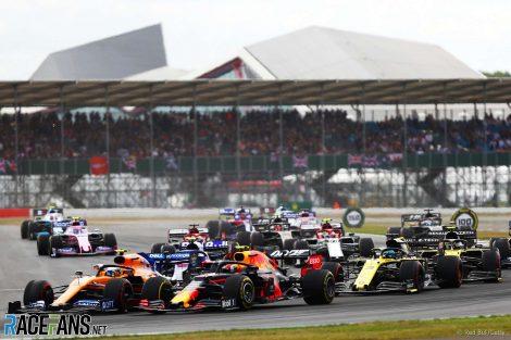 Start, Silverstone, 2019