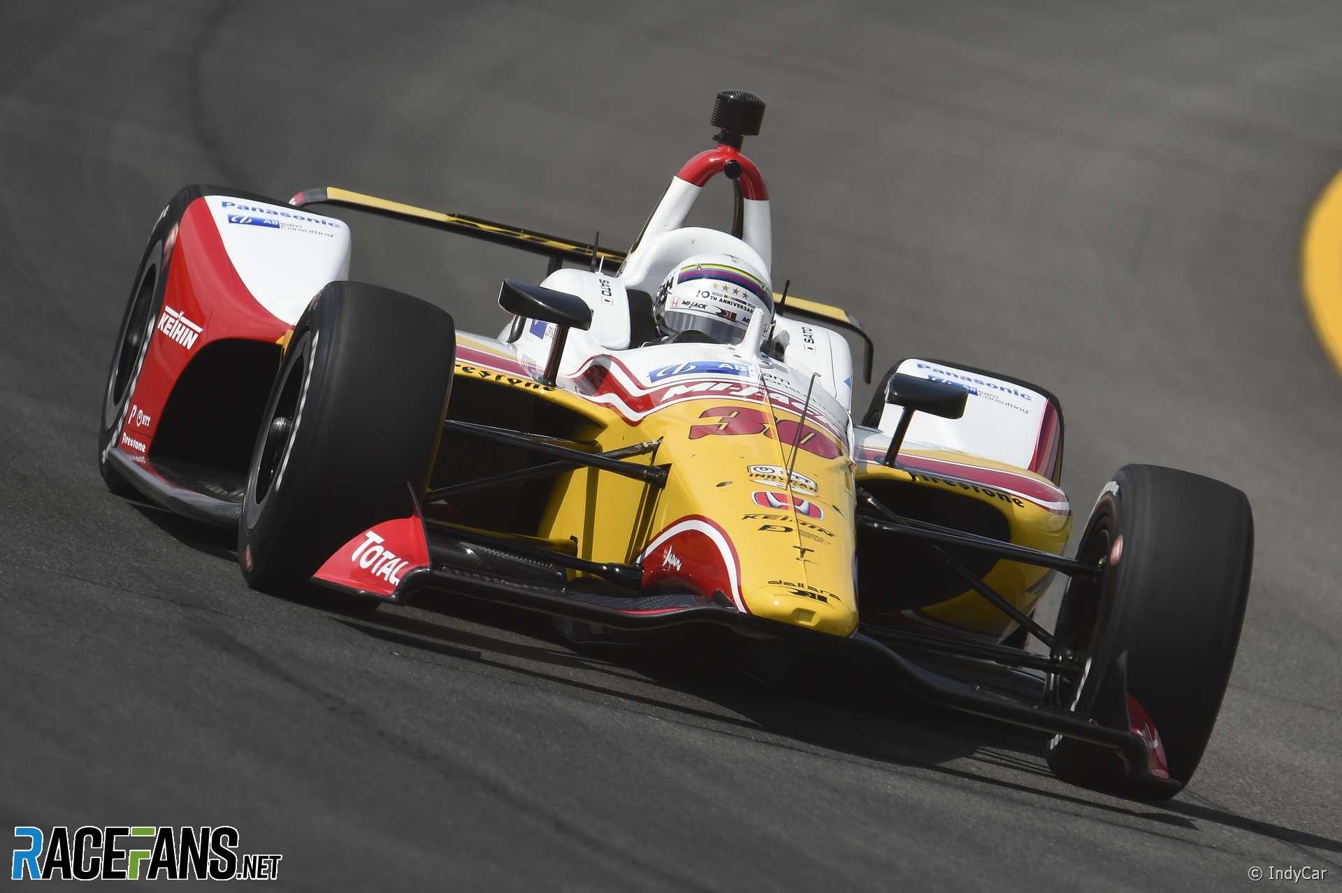 Takuma Sato, RLL, IndyCar, Pocono, 2019