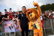 Alexander Albon, Max Verstappen fan, Red Bull, Spa-Francorchamps, 2019