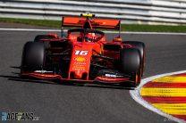Leclerc dominates qualifying to lead Ferrari one-two