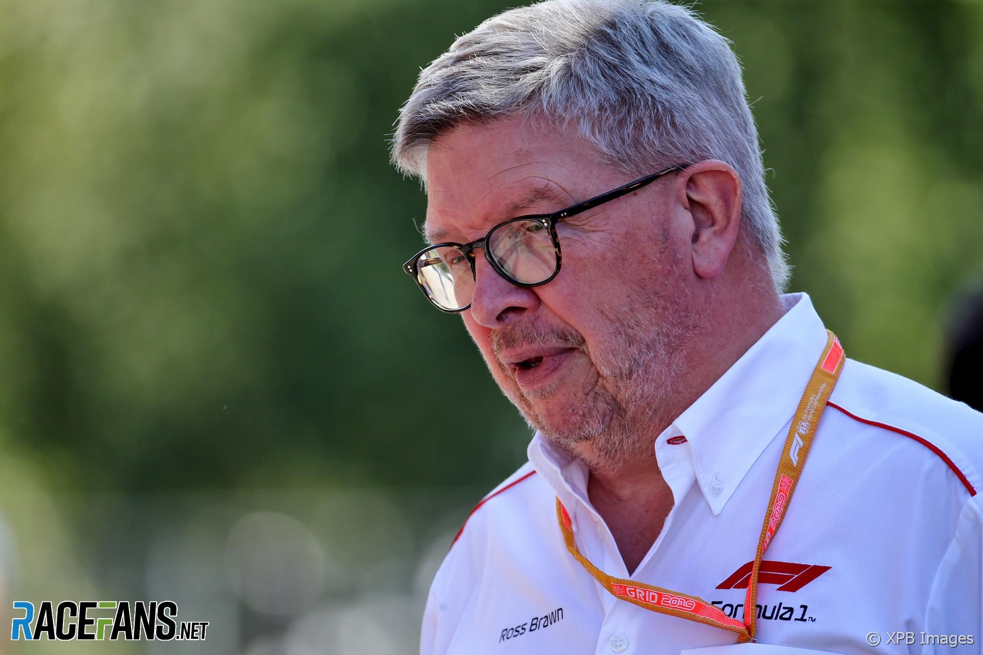 Ross Brawn, Spa-Francorchamps, 2019