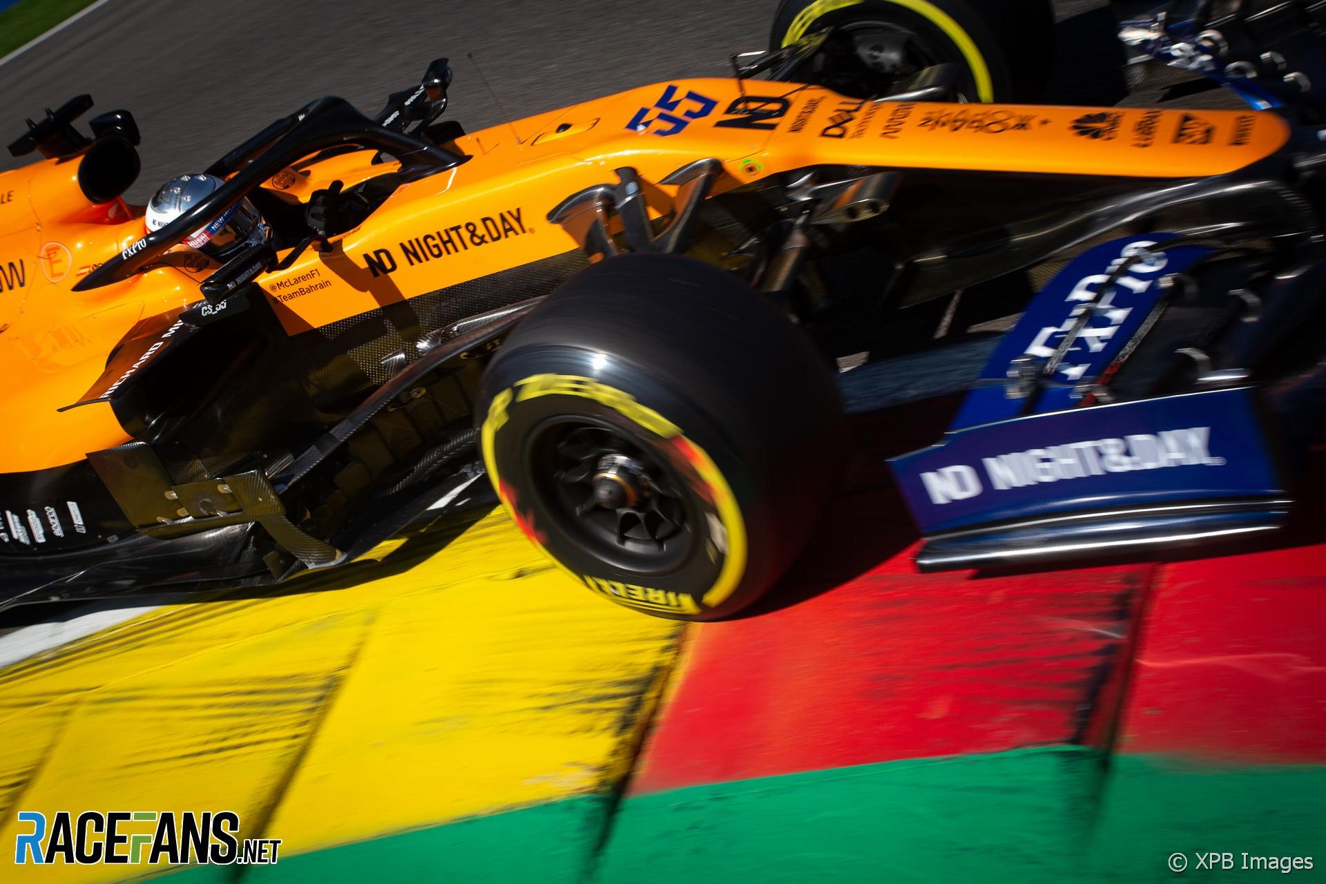 Carlos Sainz Jnr, McLaren, Spa-Francorchamps, 2019