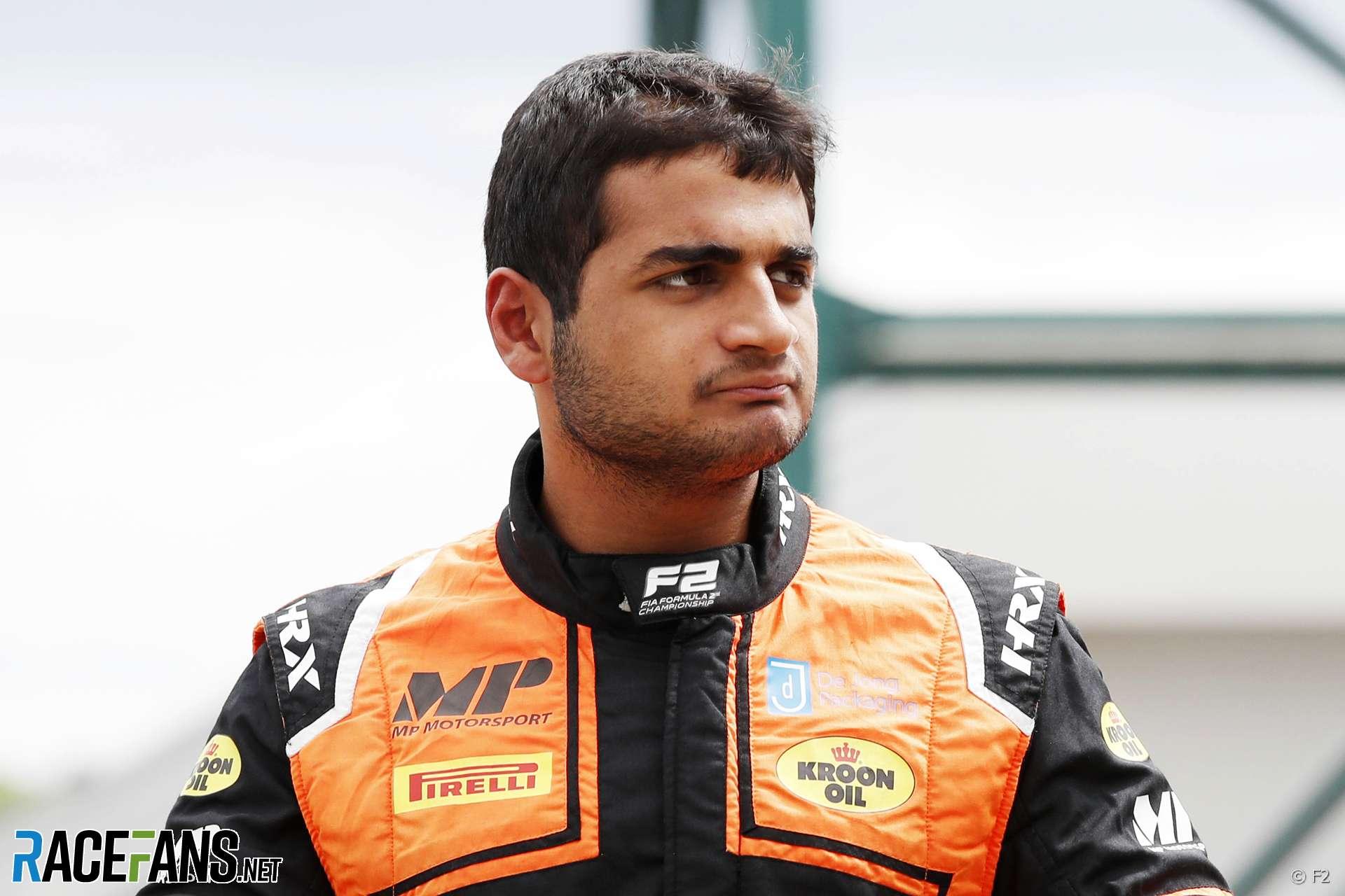 Mahaveer Raghunathan, MP Motorsport, F2, 2019