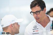 Valtteri Bottas, Toto Wolff, Mercedes, Spa-Francorchamps, 2019