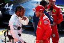 Lewis Hamilton, Sebastian Vettel, Spa-Francorchamps, 2019
