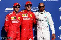 Sebastian Vettel, Charles Leclerc, Lewis Hamilton, Spa-Francorchamps, 2019