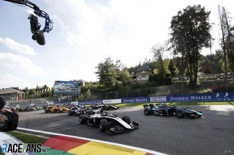 Start, F2, Spa-Francorchamps, 2019