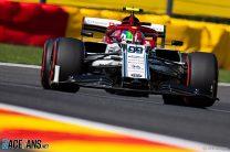 Antonio Giovinazzi, Alfa Romeo, Spa-Francorchamps, 2019