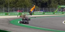 F3 driver escapes horror crash at Parabolica