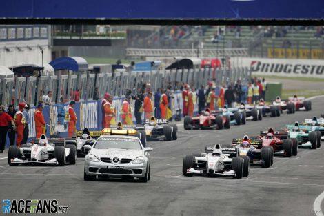 Start, GP2, Imola, 2005