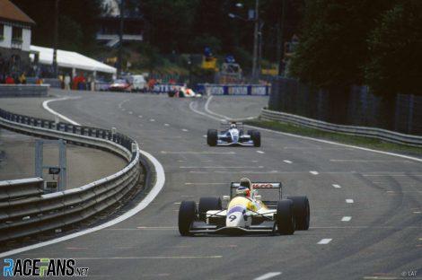 Rubens Barrichello, David Coulthard, Formula 3000, Spa, 1992