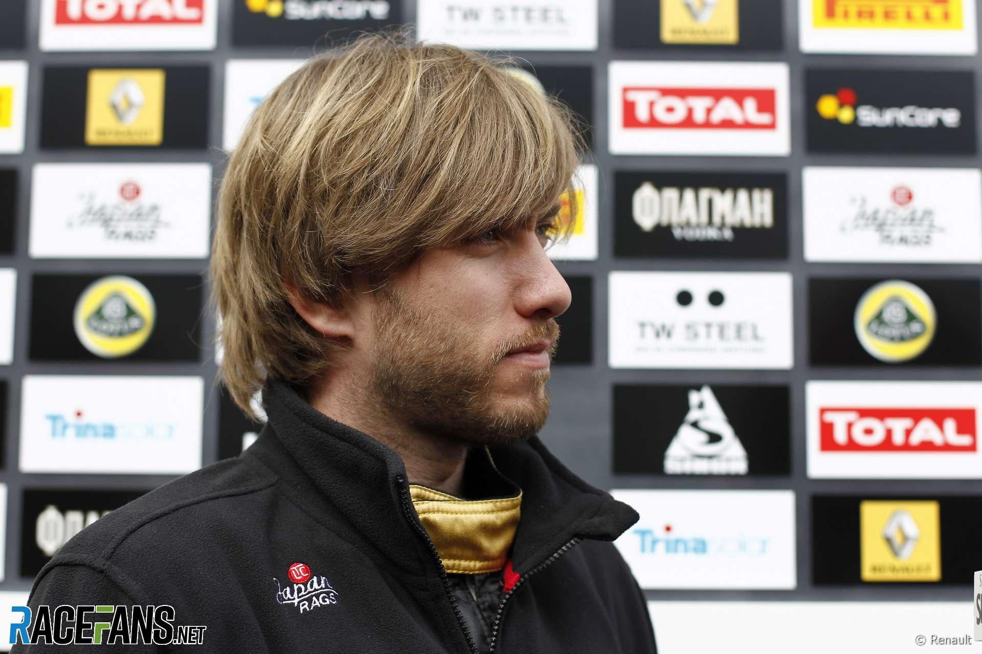 Nick Heidfeld, Renault, Circuit de Catalunya, 2011